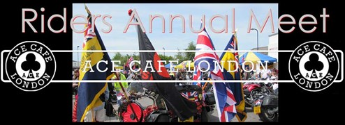 Ace Cafe RIDERS Bannergeneric