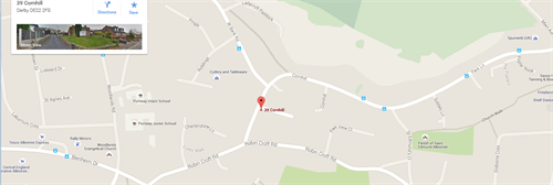 Allestree Club Map