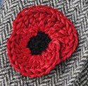 Knitted Poppy Pattern For British Legion : Fundraising - Greater London - The Royal British Legion.