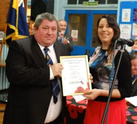 Bakewell Pao Mark Wakeman Special Achievement Award