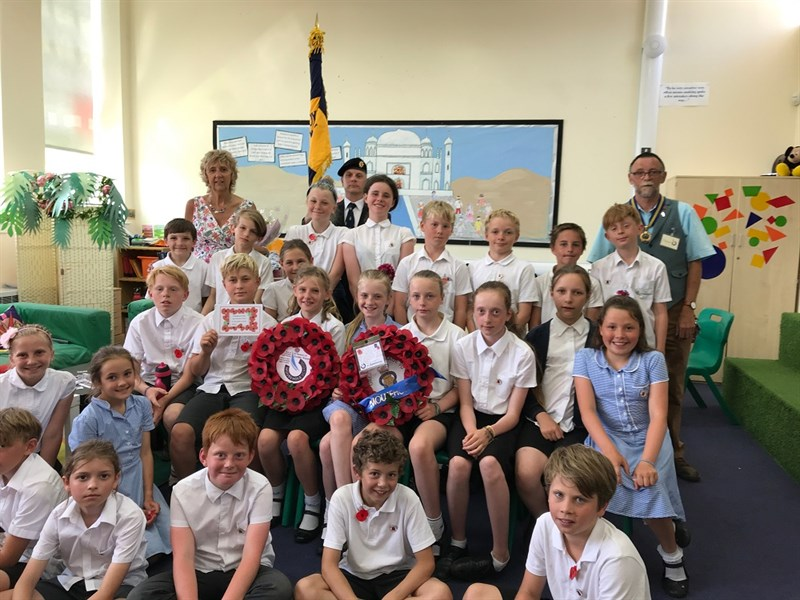 2018 Mousehole School Wreath Sentment 1000