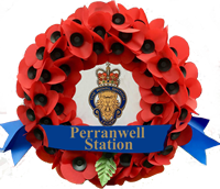 Branch Perranwell Station Wreath